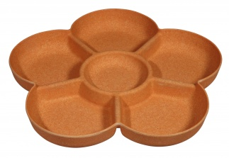 FLOWER POWER chip & dip Pumpkin orange*