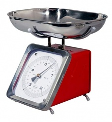 Cabanaz KITCHENSCALE Red