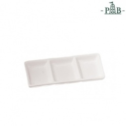 Terrine Rect. Tray 3 Parts Cm 15