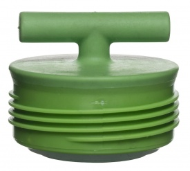 Accent lid, green