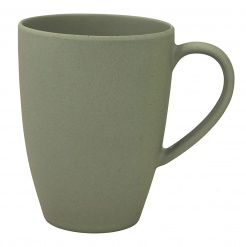 LEAN BACK MUG Grey