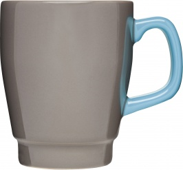 POP Mug, Brown/Turquoise