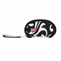 Wrap it! Ear Bud Case Damask Black & White