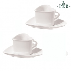 CUPIDO HEART 2 COFFEE CUPS W/S GB