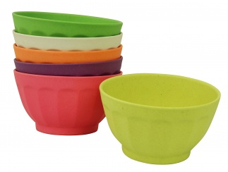 SWEET FORTUNE BOWLS XL set/6 Rainbow colours