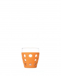Lifefactory 10oz Beverage Glass - Open Stock - Orange