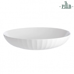 PIEVE RIBBED SOUP PLATE 37 CM