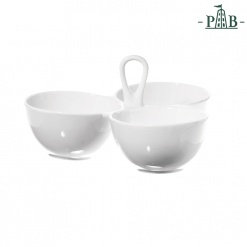 CONVIVIO 3 BOWLS SERVING W/H cm 21x20 GB