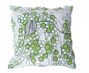 Pillowcase Sweden from above  Forest