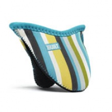 Mini Grip Pot Holder Sea Glass Blue Stripe