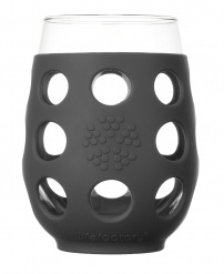 Lifefactory 17oz Wine Glass - Open Stock - Carbon