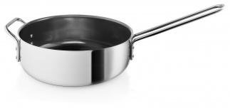 Saute pan Ø24cm Ceramic coating Stainless steel