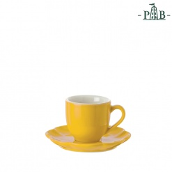VILLADEIFIORI COFFEE CUP W/S CC90 YELLOW