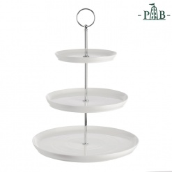 AREZZO FRUIT/CAKE STAND 3 LAYERS CM 26XH35 GB