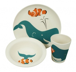 HUNGRY KIDS SET - WHALE set/3