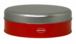 Cabanaz COOKIE BOX, RED
