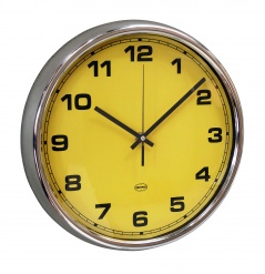 WALL CLOCK Yellow