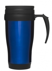 Car mug/thermal mug, blue