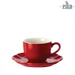 VILLADEIFIORI TEA CUP W/S CC 200 RED