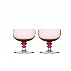 Spectra dessert bowl 2-pack, purple/pink