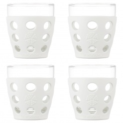 Lifefactory 10oz Beverage Glass - 4pk - Optic White