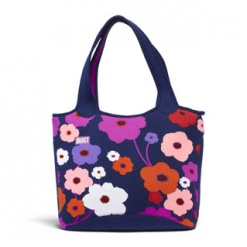 Everyday Shoulder Tote Lush Flower