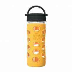 Lifefactory 12 oz Glass Bottle Core 2.0 - Marigold