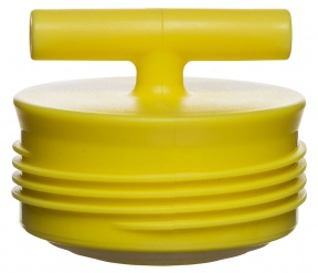 Accent lid, yellow