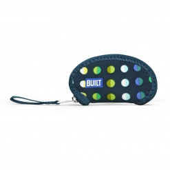 Wrap it! Ear Bud Case Emerald Dot