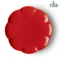 VILLADEIFIORI DINNER PLATE CM 26 RED