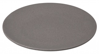 SMALL BITE plate Stone grey