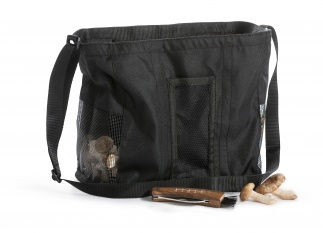 Bag with mushroomknife