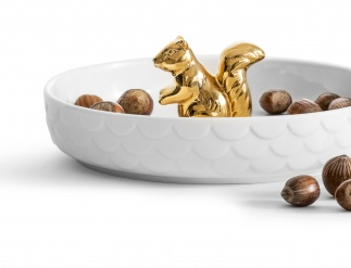 Squirrel plate gold