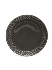 Coffee & More side plate, grey