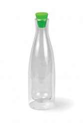 Drop Isotherm carafe glass and silicone lid Green