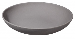 DEEP BITE PLATE Stone grey