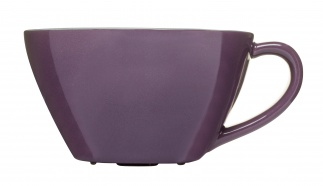 Tea mug, purple