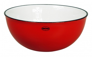 Cabanaz SALAD BOWL Scarlet red