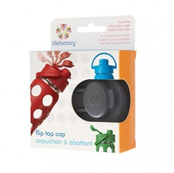 Lifefactory Flip Cap for 12, 16 and 22oz Bottles - Carbon