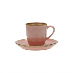 Dining, Tea and CoffeeCONCERTO (Pink) ROSA ANTICO Espresso Cup with saucer Cap. 90 cc£5.50