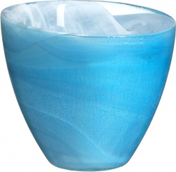 Candy tealightholder blue