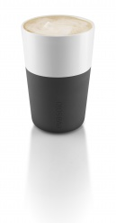 2 Cafe Latte tumbler black