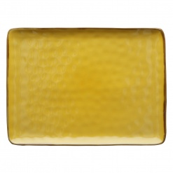 CONCERTO (Yellow) OCRA Rectangular Tray Ø 36 cm; W 26,5 cm