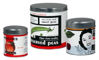 STORAGE CANS set of 3