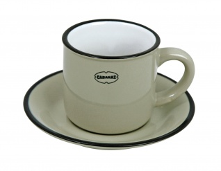 ESPRESSO CUP/SAUCER GY