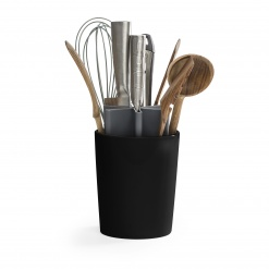 Kitchen organizer Angle matt black/grey