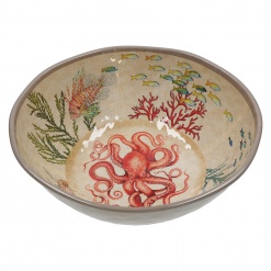 Sea Life Salad Bowl 100% Melamine Ø 36 cm