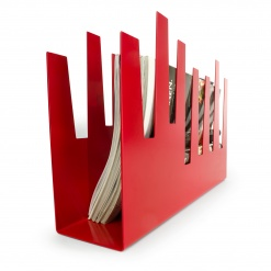 Magazine Rack Red