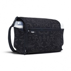 The Station Convertible: Diaper Bag Night Damask