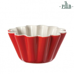 AREZZO PUDDING BOWL CM 11 RED